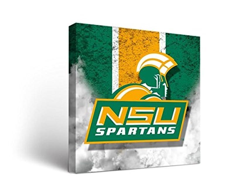 クランプ切り下げ付添人Norfolk State NSU Spartansキャンバス壁アートヴィンテージバージョン
