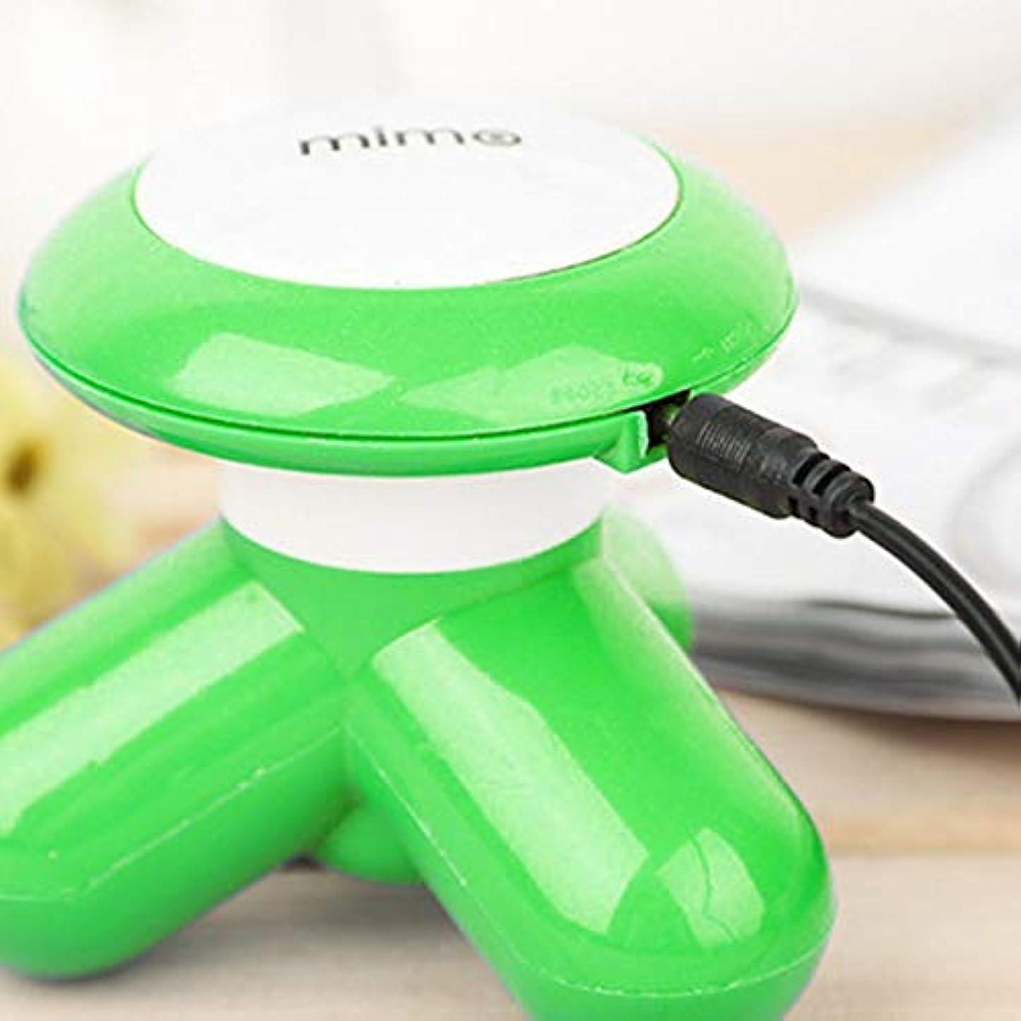 領収書茎バトルPortable Size Lightweight Electric Massager Handheld Pain Relief Relaxation Aid Back Neck Body Massager Best Gift