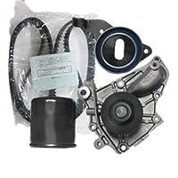 タイミングベルトセット (ハイゼット S120V / S130V) テンショナー ウォーターポンプ [ オイルエレメント付 ]
