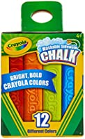 Crayola Washable Sidewalk Chalks
