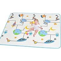 赤ちゃん遊び用マット抱き合わせ床タイル無毒性クロールおなかタイムマット子供用幼児幼児用の遊び場 (サイズ : 219cm*180cm*2cm)