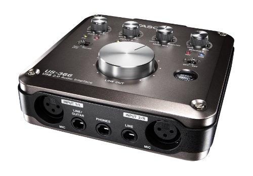 TASCAM オーディオインターフェイス DSPミキサー搭載 96/192kHz対応 USB2.0 US-366