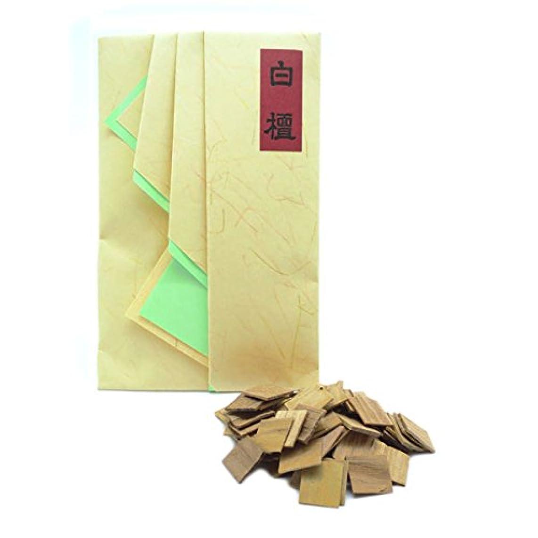 ゴミ箱を空にするストローク成り立つ老山白檀(角割)畳紙入