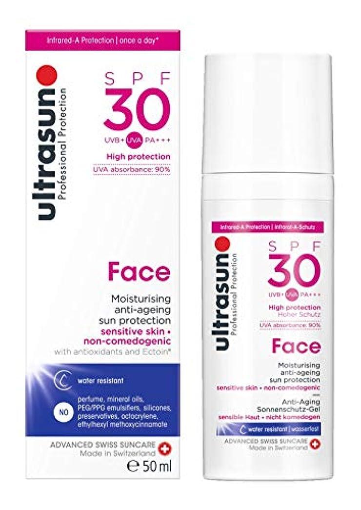 避ける見習い洗うアルトラサン 日焼け止めローション フェイス UV 敏感肌用 SPF30 PA+++ トリプルプロテクション 50mL