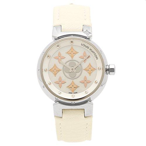 (ルイヴィトン) LOUIS VUITTON LOUIS VUITTON 時計 レディース ルイヴィトン Q12MS0 タンブール イディール・ブロッサム PM 28MM レディース腕時計 ウォッチ ブロンシュ/シルバー [並行輸入品]