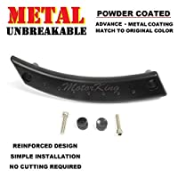 MotorKing UE1002-FL-PCB Metal Reinforced Panel Door Handle Beetle Front Left Satin Black Repair Kit [並行輸入品]