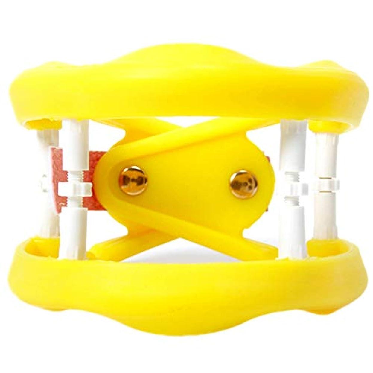 勝利した差別親密なSODIAL 調整可能なシリコン頸部牽引フレームネックマッサージ 脊椎ストレッチサポートコレクターマッサージ リラクゼーション