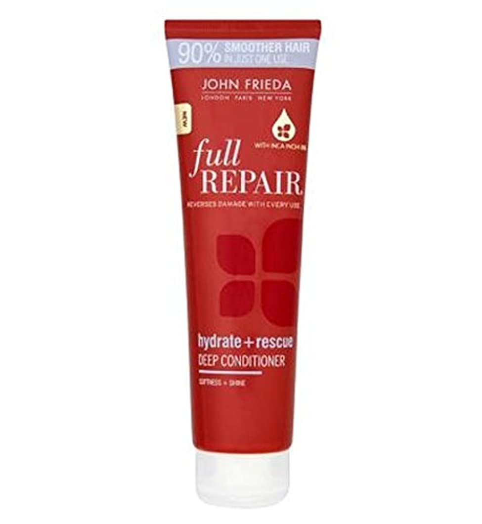 無線準備するスキニージョン?フリーダ完全な修復水和物+救助深いコンディショナー150ミリリットル (John Frieda) (x2) - John Frieda Full Repair Hydrate + Rescue Deep Conditioner...