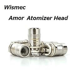 Wismec Amor Atomizer Head 交換用コイル5pcs-pack