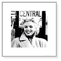 ポスター フォトグラフ マリリン モンロー グランドセントラルステーション