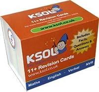 KSOL 11 Plus試験改訂カード