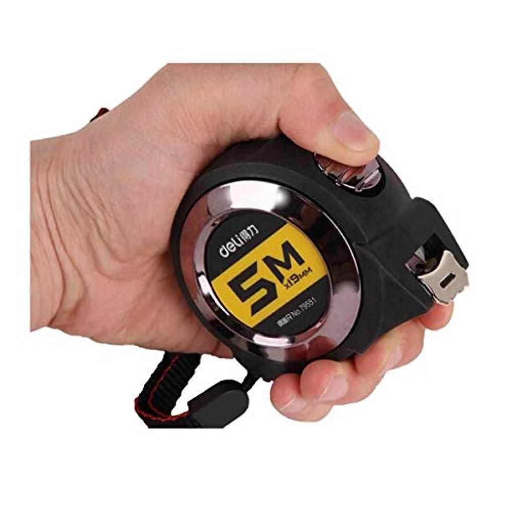 うんざり引用責WXZD 3メートル、5メートル、7.5メートル、10メートル、スチールテープメジャー、テープメジャー、落下スチールテープメジャーへの抵抗、ルーラー、ルーラーテープメジャー、オールインクルーシブラバーセルフロック (Size : 5M*25mm)
