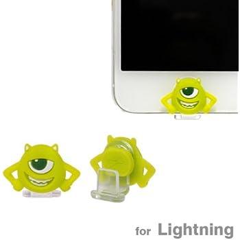 Cut & Paste apple Lightning コネクター 専用 ディズニー モンスターズ・ユニバーシティ Lightning キャップ マスコット (マイク)