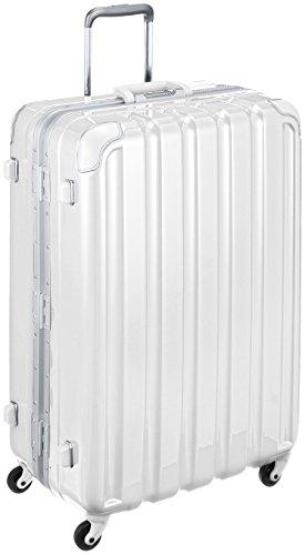 [シフレ] スーツケース グリーンワークス 93L 66㎝ 4.9㎏ 保証付 93L 74cm 4.9kg GRE1043-66 メタリックホワイト メタリックホワイト