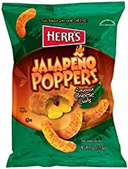 Herr's Jalapeno Poppers Cheese Curls 1 Pack,