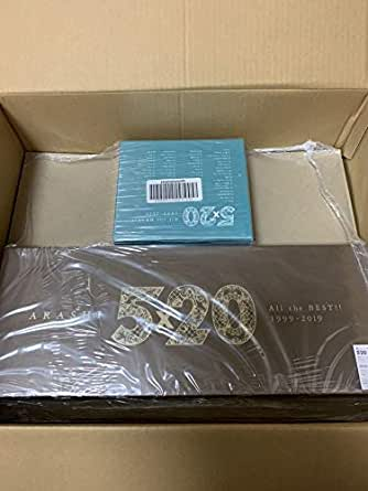 嵐 ベストアルバム ARASHI 5×20 All the BEST!! 1999-2019 初回限定盤 1 & 2 セット CD+DVD AC25