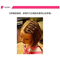 Generic子供のヘアアクセサリーベビーDishヘアBraided Hair Pullingヘアピンに着用ヘアピン