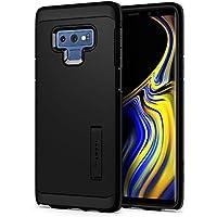 【Spigen】 スマホケース Galaxy Note9 ケース 対応 米軍MIL規格取得 耐衝撃 スタンド機能 タフ・アーマー 599CS24575 (ブラック)