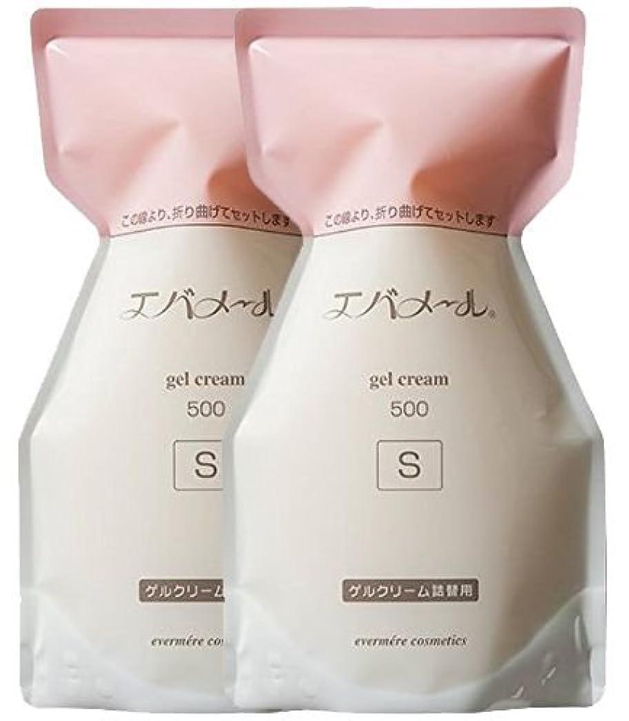 インスタンスレタス責めるエバメール ゲルクリーム 詰替500g(S) (2個)