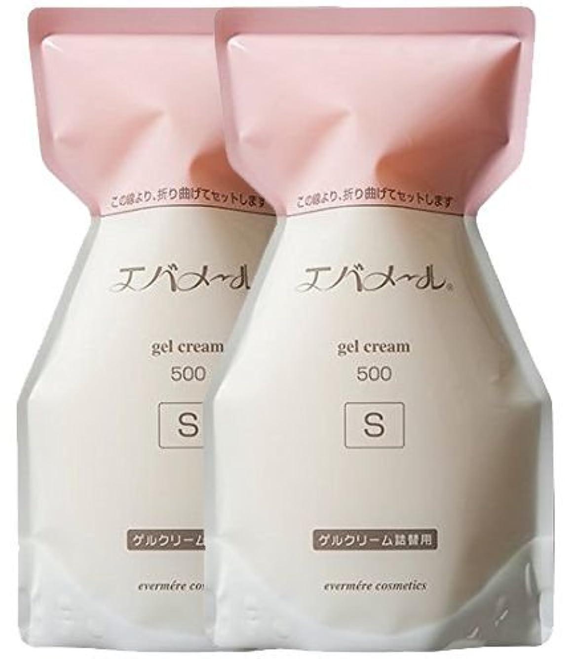 番目化粧傑出したエバメール ゲルクリーム 詰替500g(S) (2個)