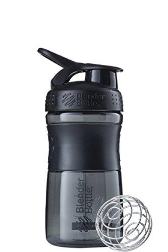 ブレンダーボトル 【日本正規品】 Blender Bottle SportMixer 28オンス (800ml) ブラック BBSME28 BKBK