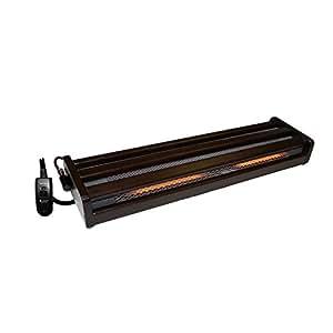 METRO(メトロ) 木枠フットヒーター(2灯式) 手元電子コントローラー式 [正規代理店品]