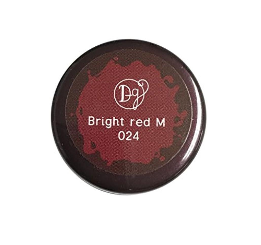 鉱石世紀すすり泣きDECORA GIRL カラージェル #024 ブライトレッドミディアム