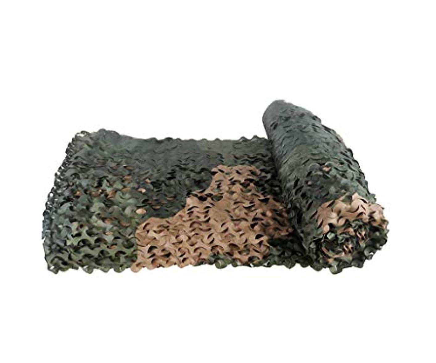 環境に優しいジェム手荷物テラスの日除け カモフラージュネットは、2メートル、3メートル、4メートル、5メートル、6メートル、8メートル、10メートル、狩猟撮影隠された軍の迷彩ネットのために使用することができます 迷彩ネット日焼け止めネット (サイズ さいず : 4*6m)