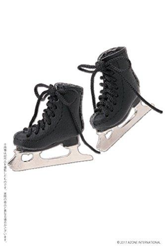 ピュアニーモ用ウェア フィギュアスケート靴 ブラック (ドール用)
