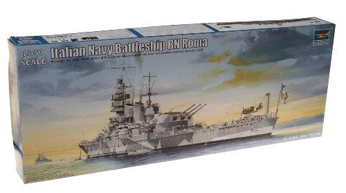 トランペッター 1/350 戦艦シリーズ イタリア海軍 戦艦ローマ プラモデル