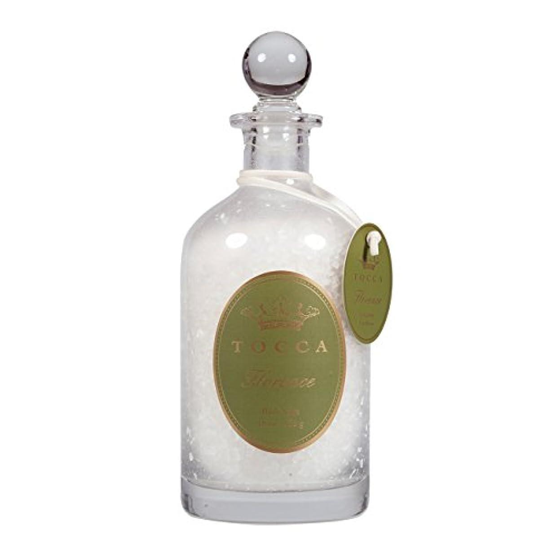 罪勘違いするクスコトッカ(TOCCA) バスソルト 535g フローレンスの香り (約10回分)