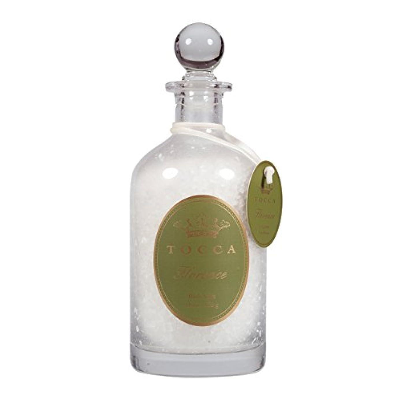 忘れっぽい保険実質的トッカ(TOCCA) バスソルト 535g フローレンスの香り (約10回分)
