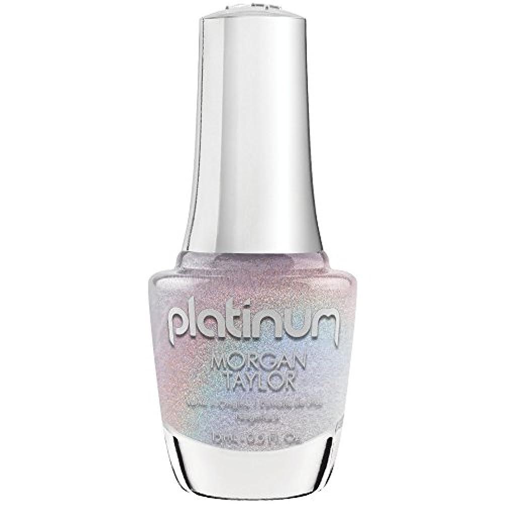 ステートメントじゃない信頼Morgan Taylor Lacquer - Platinum Collection - Liquid Bling - 15 mL/0.5 Fl Oz