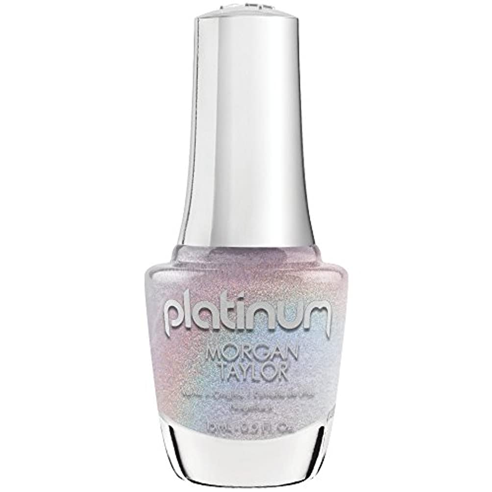 マット昇進支援するMorgan Taylor Lacquer - Platinum Collection - Liquid Bling - 15 mL/0.5 Fl Oz