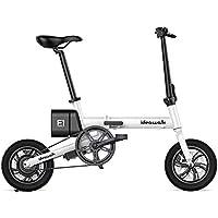 電動アシスト自転車【 Ideawalk 】12インチ 電動自転車 折りたたみ 軽量リチウムバッテリー
