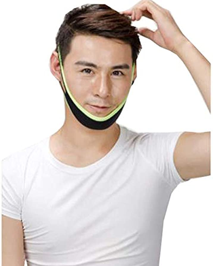 ほかに基本的なマトリックスZMiw 小顔ベルト 矯正 メンズ用 アイマスク 顔痩せ サウナマスク 寝ながらゲルマニウム 小顔バンド サイズ調整可能 通気性 簡単脱着 リフトアップ 二重あご 補正ベルト フェイスベルト