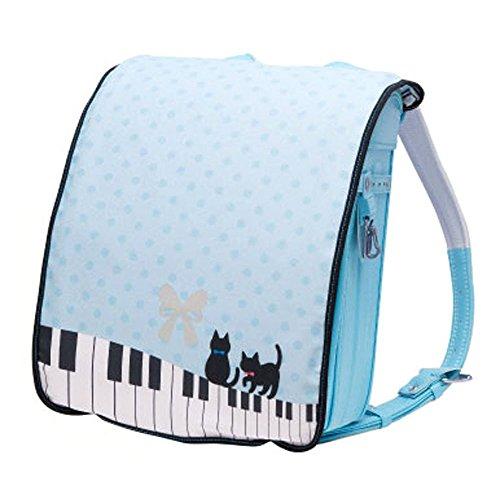 らんらんCAP リバーシブル RD-023 ピアノ猫...