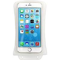 【iPhone6Plus対応】防水ケース(6/5C/5/4S/4/3、各種スマートフォン)水深10M防水 高透過撮影用ウィンドウ・フロート付 dicapac(ディカパック) WHITE | 日本オリジナル仕様 P3