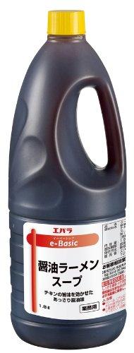 【ラーメン作り】エバラ食品 醤油ラーメンスープ1.8L