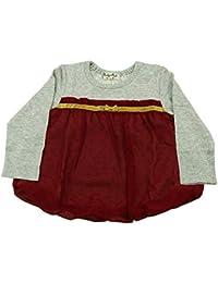 【子供服】 Miary mail (ミアリーメール) ドット柄バルーンチュニックTシャツ 80cm~130cm S66822