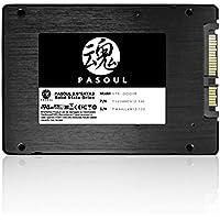 Pasoul SSD 120GB ノートパソコン 増設用 3D TLC NAND採用 新品 2.5インチ 内蔵型SSD 日本国内三年保証 SATA 6Gbps Read(MAX)550 Write(MAX)400MB/s