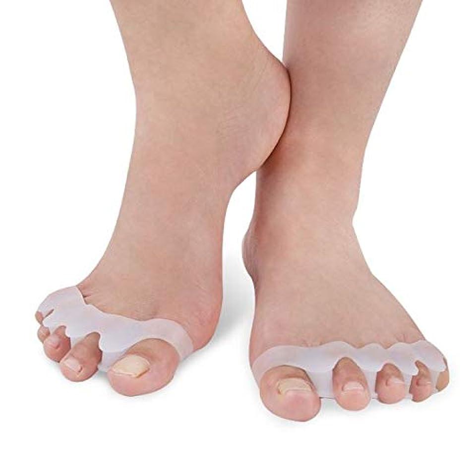 ペインティング適度なアルカトラズ島JMARS (ジェイマーズ) 日本人女性用 足指サポーター 柔らかシリコン製 水洗い対応可能品