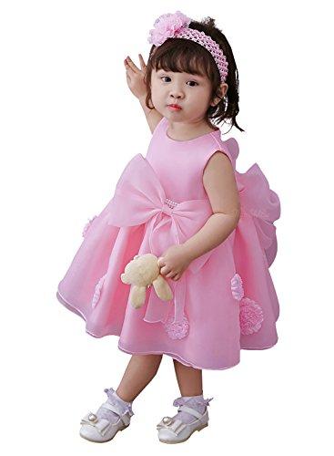Kidsweety 子供ドレス ベビー服 フォーマル ワンピース 出産祝い 記念写真 結婚式 入園式...