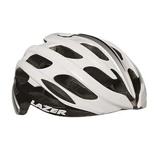 LAZER(レーザー) ヘルメット Blade JCF公認 自転車用ヘルメット R2LA668248X ホワイト/シルバー M(55-59cm)