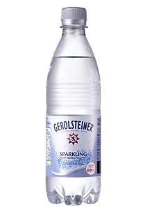 サッポロ GEROLSTEINER(ゲロルシュタイナー) 天然炭酸水 500ml×24本 [正規輸入品]