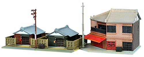 Tomytec diorama collection building collection 110 – 3-story building and corner food store 3 diorama supplies