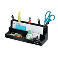 Fellowes Mfg. Co. FEL8038901 Organizer- w-Compartments- 11-.25in.x5in.x3-.88in.- Black