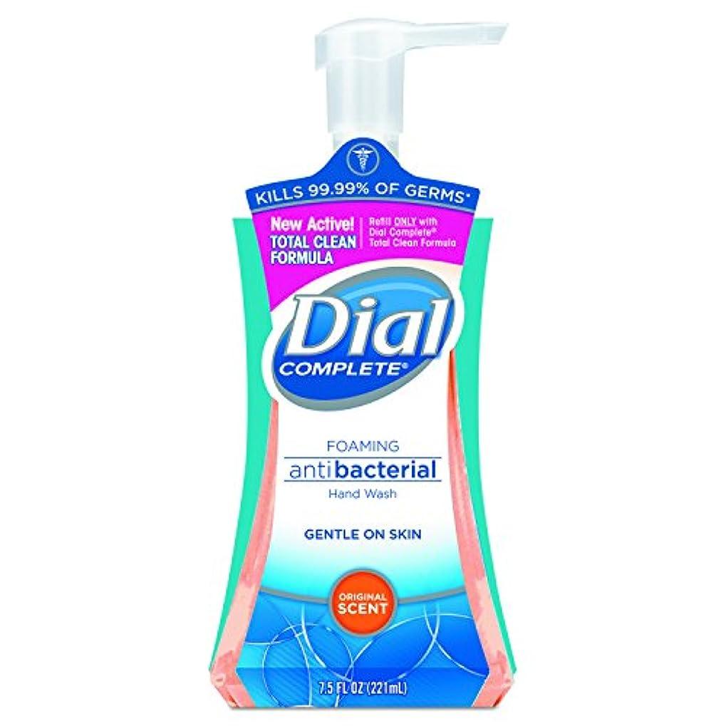 学校の先生友だち増加するDial Complete Foaming Hand Wash, Liquid, Fresh Scent, 7.5 oz Pump Bottle, 8/Carton