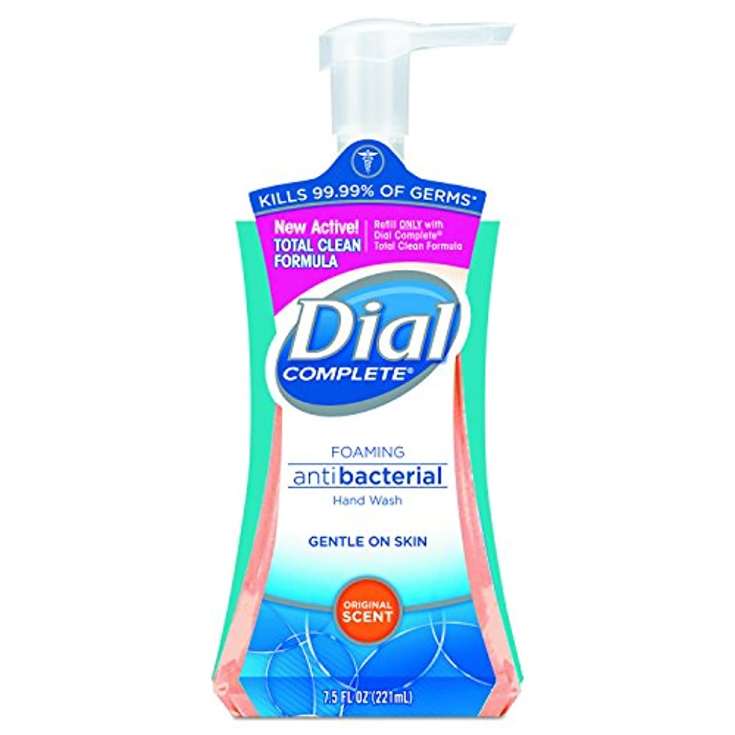 リマークだます宿るDial Complete Foaming Hand Wash, Liquid, Fresh Scent, 7.5 oz Pump Bottle, 8/Carton