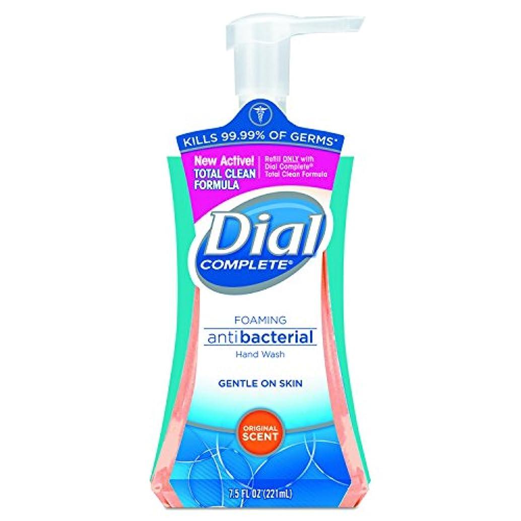 チャット柔和破壊的Dial Complete Foaming Hand Wash, Liquid, Fresh Scent, 7.5 oz Pump Bottle, 8/Carton